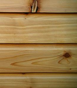 Profiled Air Dried British Cedar Cladding