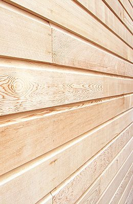 Profiled Air Dried Cedar Cladding