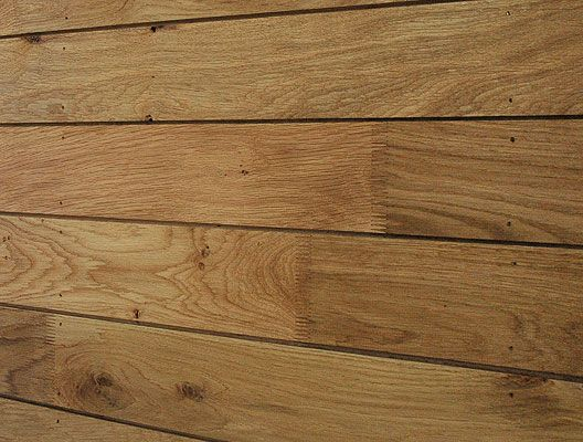 Profiled Air Dried British Oak Cladding