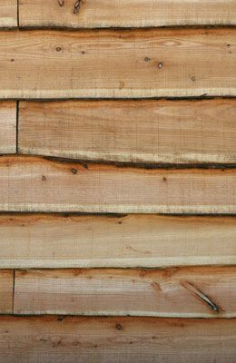 British Larch Waney Edge Cladding