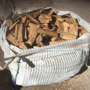 Seasoned Oak Logs Firewood
