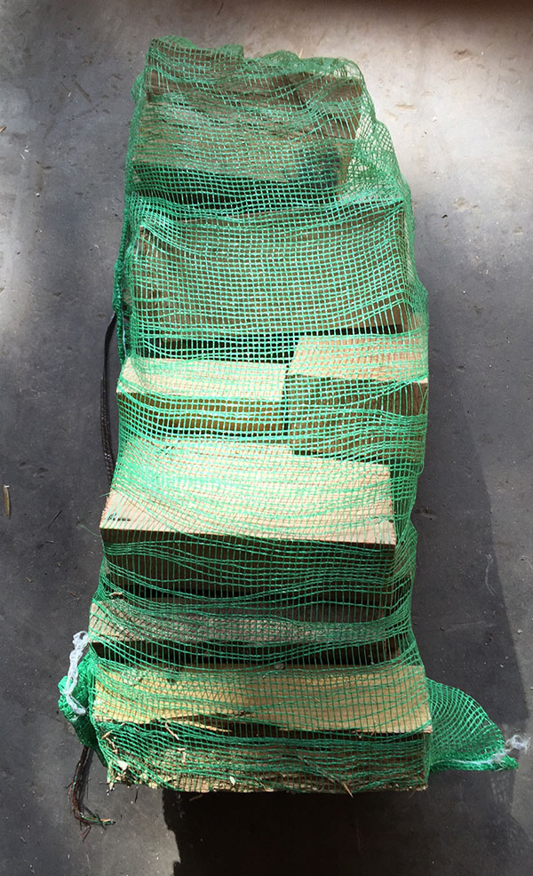 Timber Suppliers Small Firewood Bags Timber Suppliers