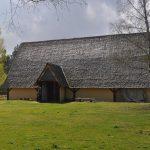 Oak Shake Roman Longhouse