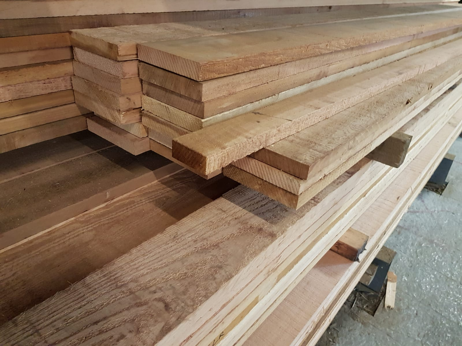 Western Red Cedar Boards